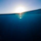 tło abstrakcyjne pod wodą Fotografia Stock