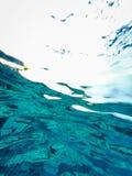 tło abstrakcyjne pod wodą Zdjęcia Stock
