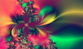 tło abstrakcyjnych niebieskiej zielone wzór różowy Zdjęcia Stock