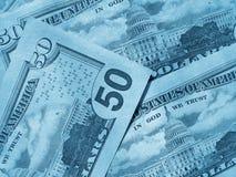 tło amerykańscy dolary Zdjęcie Royalty Free