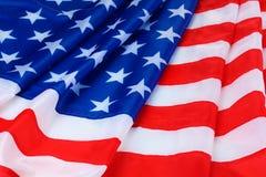 tło amerykańska flaga Fotografia Stock