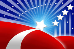 tło amerykańska flaga stylizował Zdjęcie Royalty Free