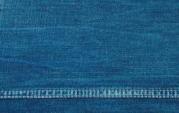 Tło błękitny prostacki drelich zdjęcie stock