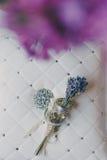 tło balonu strony poduszka nazywa ślub Obrazy Stock
