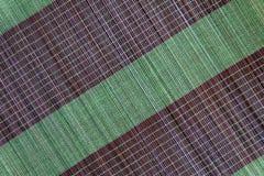 Tło bambus maty talerz, Kolorowy wzór, Bambusowa tekstura, Pusta przestrzeń bambus mata Obrazy Royalty Free