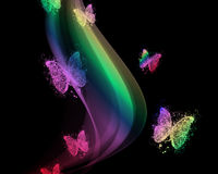 tło barwiący Obraz Stock