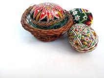 tło barwiący Easter jajek eps8 formata czerwony tulipanu wektor Obraz Stock