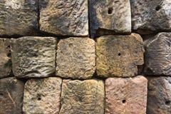 tło barwi kamienną grunge ścianę Zdjęcia Royalty Free
