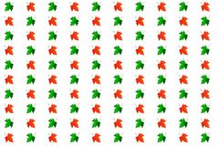 Tło barwioni liście klonowi Zdjęcia Stock
