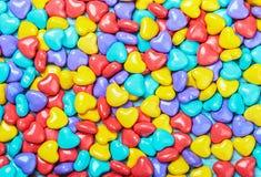Tło barwiony cukierek zdjęcie stock