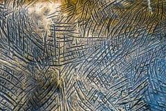 Tło barwiony miedziany metal zdjęcie stock
