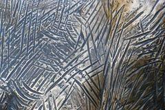 Tło barwiony miedziany metal obrazy royalty free