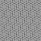 tło bezszwowy wektora Nowożytna elegancka tekstura trójboki i wieloboki Powtórka geometryczna siatka Prosty grafiki des ilustracji