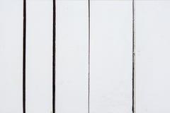 Tło biała drewniana deska Obrazy Stock