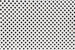 Tło biała drewniana kratownica deseniowy kwadrat Zdjęcia Royalty Free