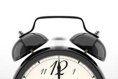 tło białe alarmowego zegara Obraz Stock