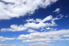 tło białe chmury zdjęcie stock