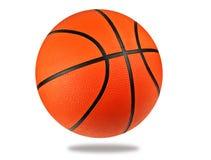 tło białe odosobnione balowej koszykówki fotografia royalty free