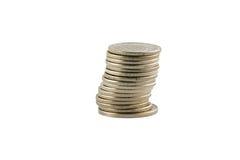 tło białe szwedzki waluty Fotografia Stock