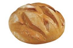 tło biel chlebowy świeży Fotografia Stock