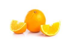 tło biel owocowy pomarańczowy fotografia stock