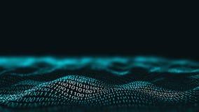 tło binarnego bliżej kod technologii informacji klawiaturowy tunel Sieć biznesu infographics ja informatyki pojęcie Zdjęcia Stock