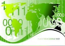 tło biznesowej globe przedsiębiorstw zdjęcie stock