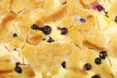 tło blueberry tosty Obrazy Royalty Free