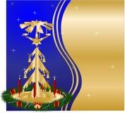 tło boże narodzenia royalty ilustracja