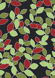 tło boże narodzenia barwią liść bezszwowych Fotografia Royalty Free