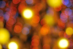 tło bożonarodzeniowe światła Obraz Royalty Free