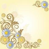 tło branch kwiaty Zdjęcia Stock