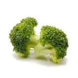 tło brokuły odizolowywali biel Zdjęcie Royalty Free