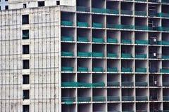 tło budynku budowy rządów czarne przemysłowych pod oknem Fotografia Royalty Free