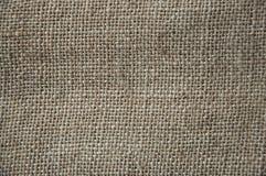 Tło burlap zbliżenie, tekstura Zdjęcie Stock