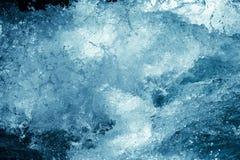 Tło burzowa błękitne wody Zdjęcie Royalty Free