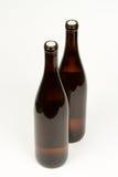 tło butelkuje biały wino dwa Obrazy Stock