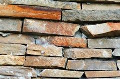 Tło cegły, kamienie Fotografia Stock