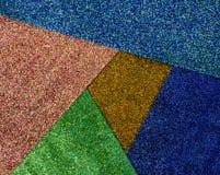 Tło cekin kolorowe tło błyskotliwości surfactant Wakacyjny abstrakcjonistyczny błyskotliwości tło z mrugań światłami Tkaniny sequ obraz stock