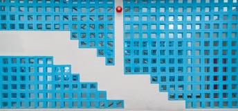 Tło Cementowa błękit ściana Zdjęcia Stock