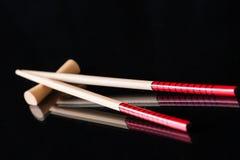 tło chińczyk wtyka suszi drewno Obraz Stock