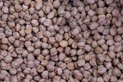 Tło chickpea podstawowy składnik dla hummus obrazy stock