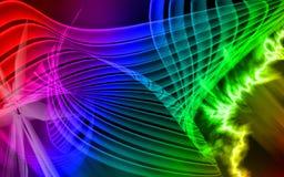 tło colours cyfrowy royalty ilustracja