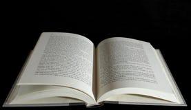 tło czarnej księgi nadmiernie otwarte Zdjęcia Stock
