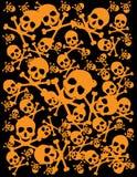 tło czaszka royalty ilustracja