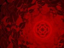 tło czerwień wzrastał ilustracja wektor