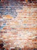 Tło czerwona ściana z cegieł tekstura fotografia royalty free