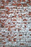 Tło czerwona cegła Zdjęcia Stock