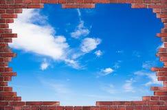 Tło czerwony ściana z cegieł obrazy royalty free