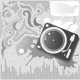 tło dźwięk Obraz Stock